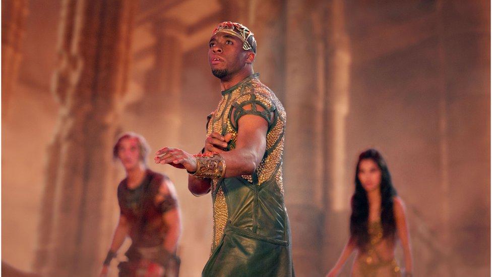 Chadwick Boseman as Thoth