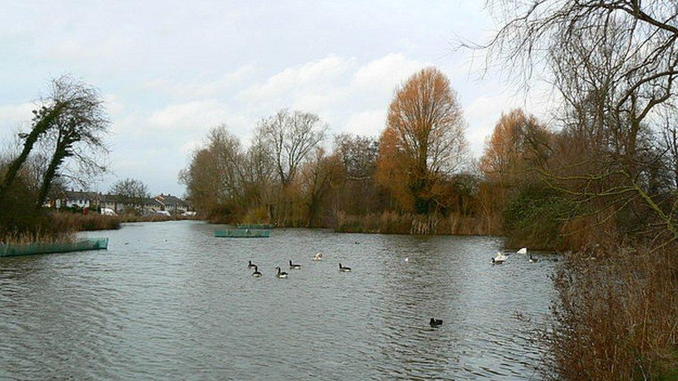 Shaftesbury Avenue Lake