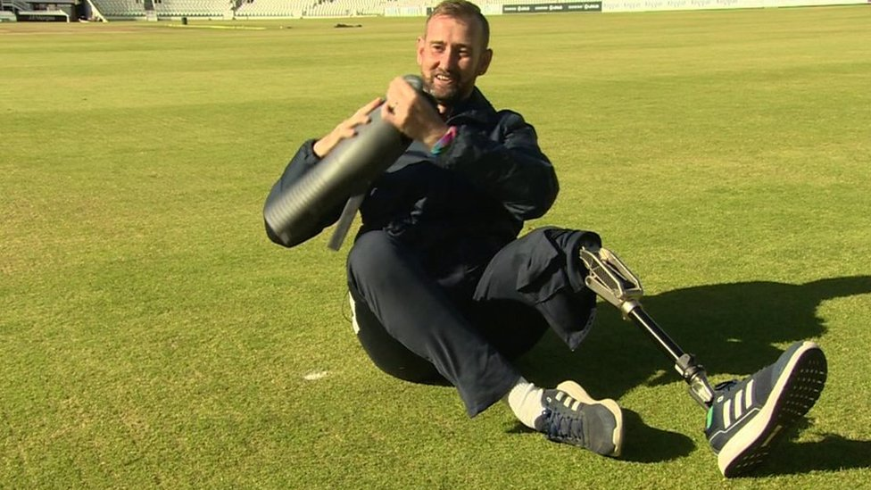 Cricketer Rob Franks speaks about leg amputation battle