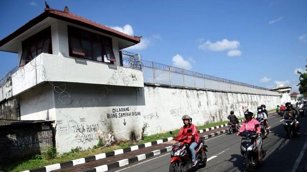 बाली की जेल से ऐसे भागा अमरीकी क़ैदी