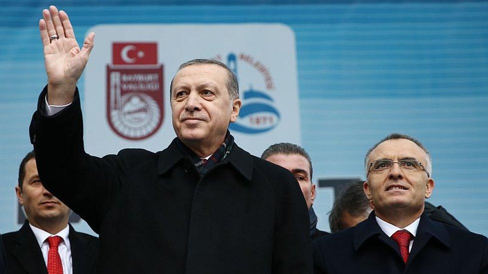 Erdogan ve Agbal