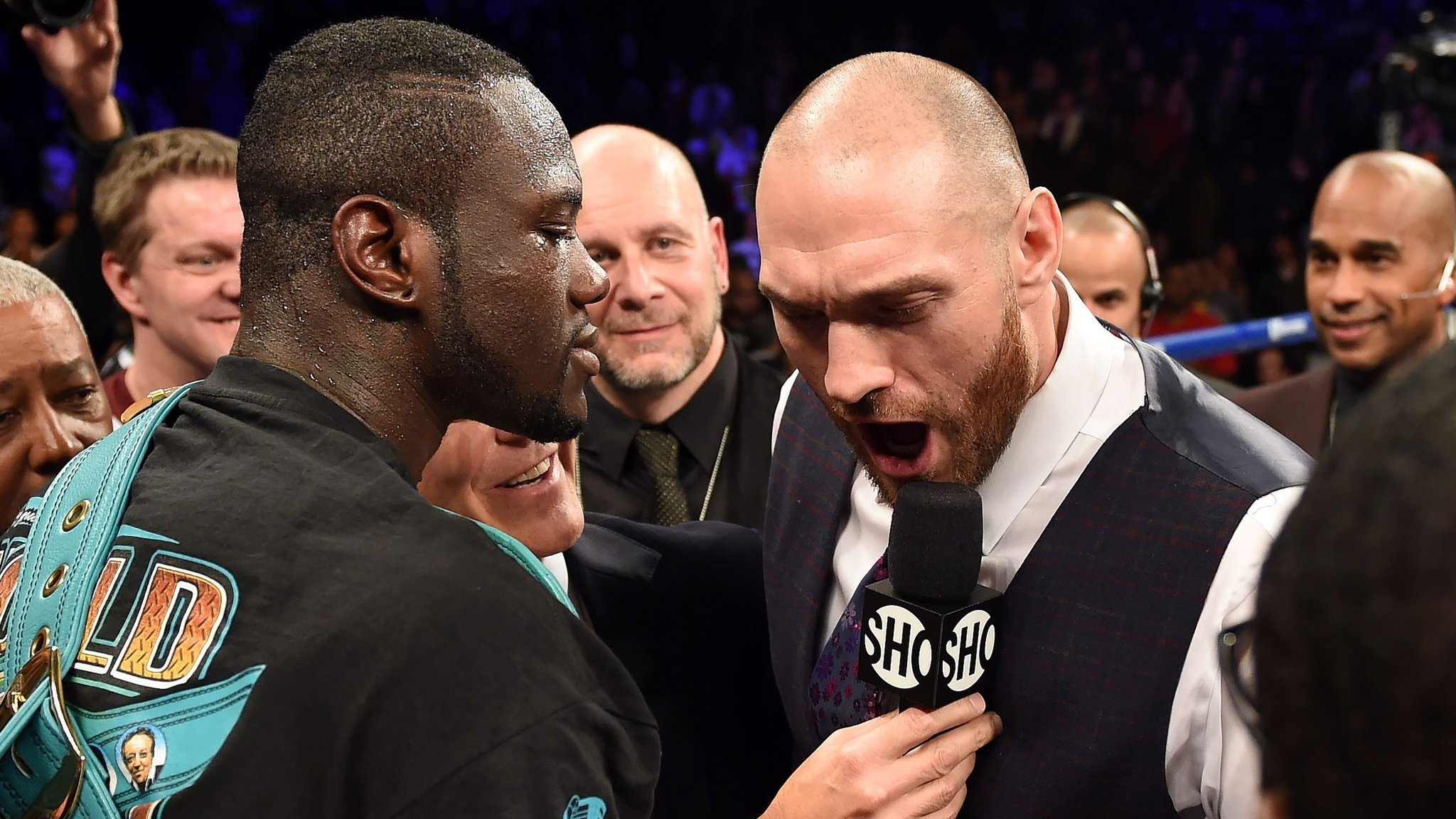 I'll fight Fury in US this year, says world champion Wilder