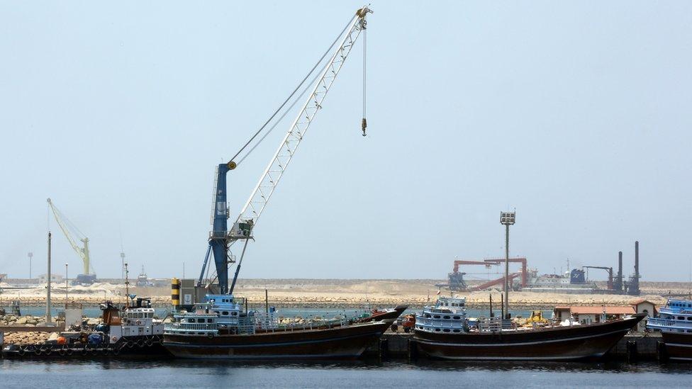 ميناء جابهار جنوب غربي إيران