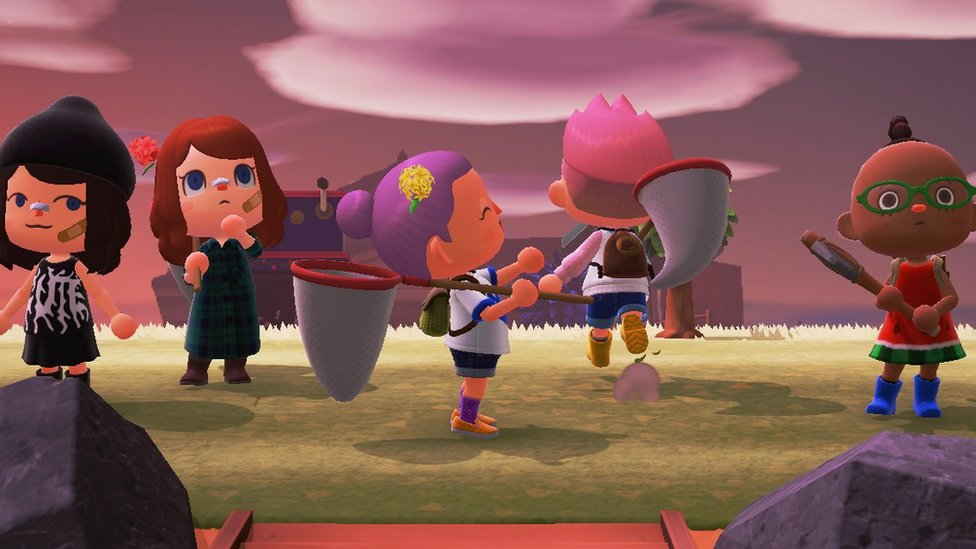 在封鎖令期間,在遊戲中相聚是朋友們的一個選擇。