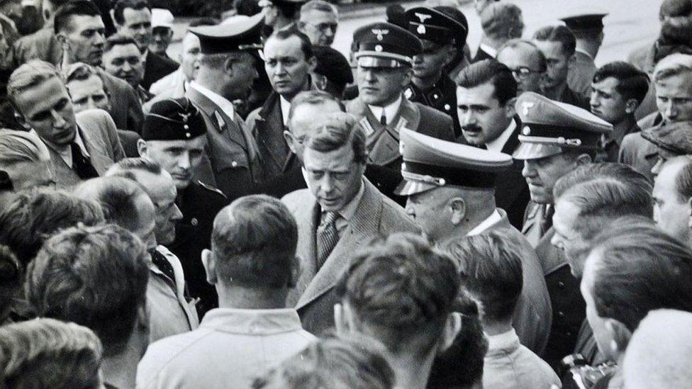 Duke of Windsor on Nazi Germany trip