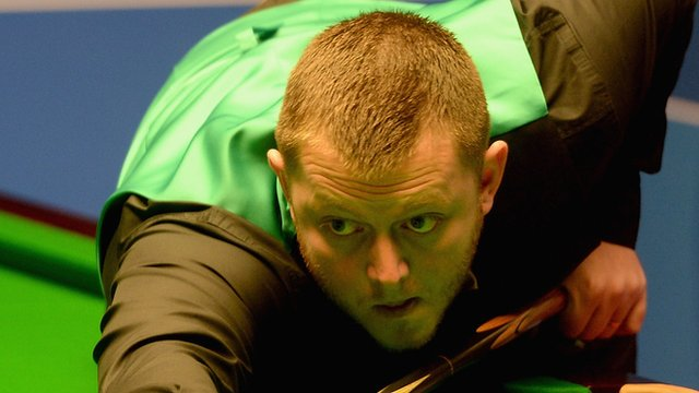 Mark Allen is number seven in the world rankings