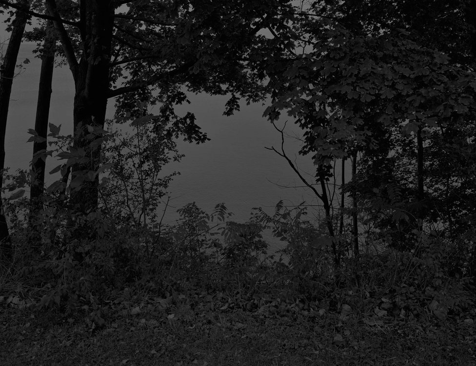 Bey-Untitled #24 (At Lake Erie) by Dawoud Bey