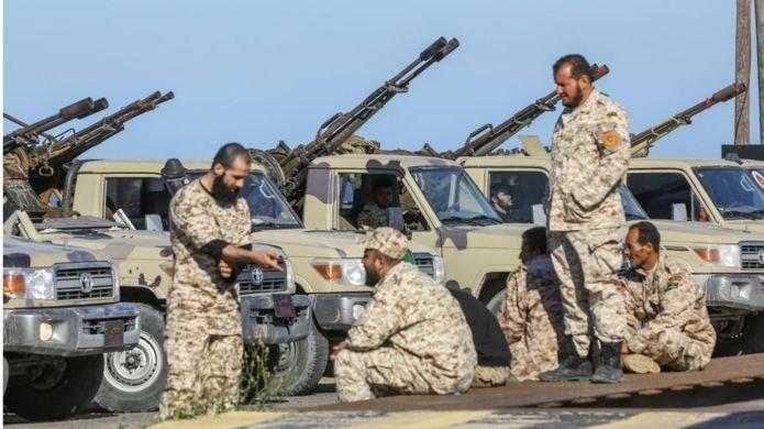 Hafter'e bağlı güçler Trablus'a ilerliyor