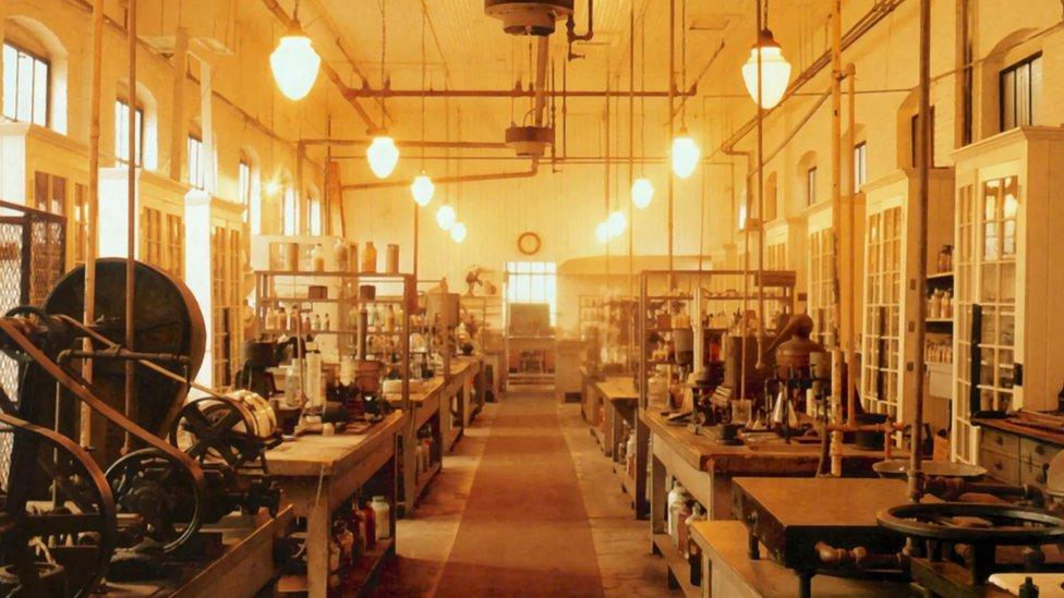 Laboratorio de Thomas Edison.