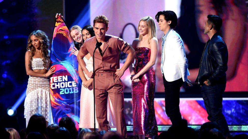 Riverdale leads Teen Choice Award winners