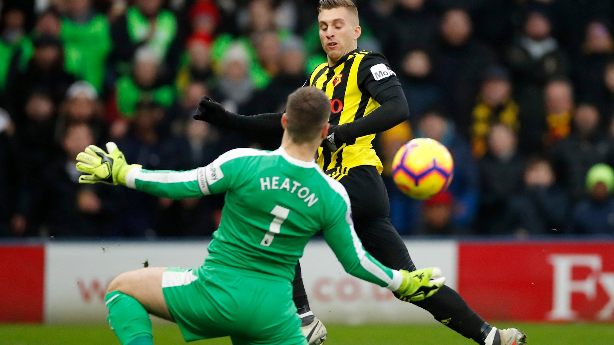 Watford 0-0 Burnley: Both sides maintain unbeaten start to 2019 after goalless draw