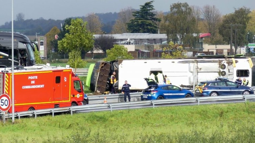 FlixBus crash in France