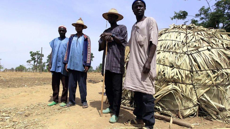 Nomadic Fulani herdsmen