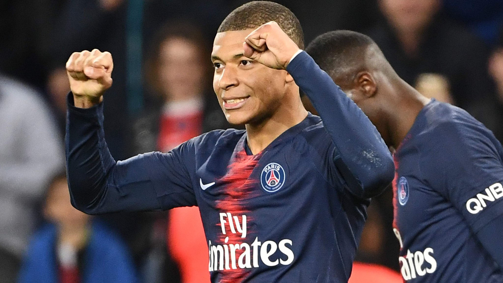 Paris St-Germain 3-0 Nimes: Kylian Mbappe scores twice as PSG go 17 clear