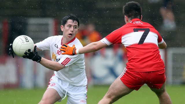 Action from the Ulster minor football championship