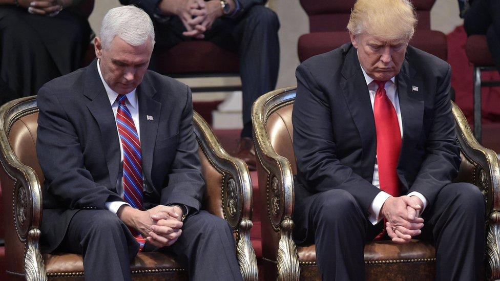 Trump y Pence