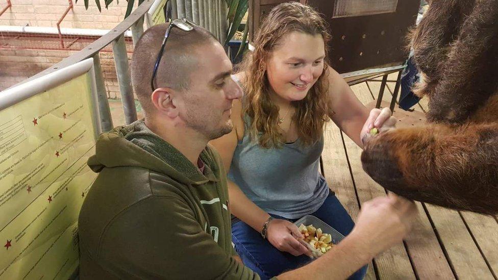 Kat and Jason Charles
