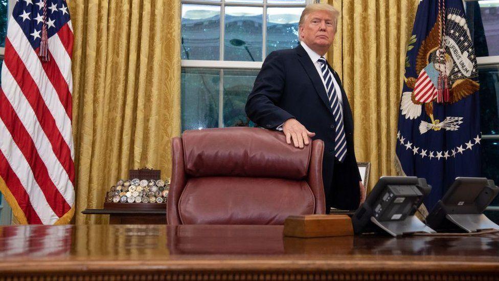 美國候任總統拜登將接替特朗普入主橢圓形辦公室(Credit: Getty Images)