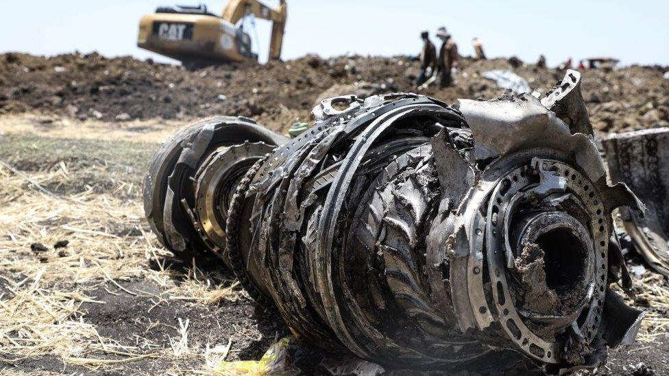 موقع تحطم رحلة الخطوط الجوية الإثيوبية ET302 في مارس/آذار