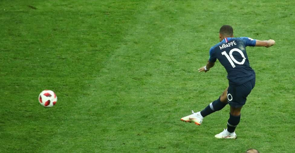 Mbappe menjadi pemain termuda kedua yang mencetak gol di final Piala Dunia (Reuters)