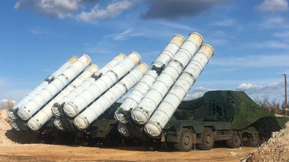 موسكو أكملت تسليم منظومة اس-300 إلى سوريا