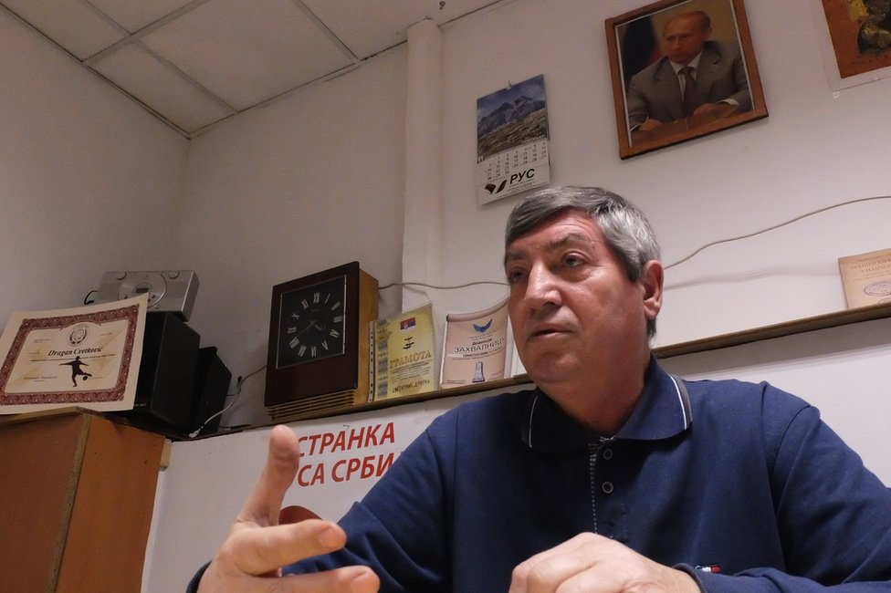 Lider Russkoй partii Serbii
