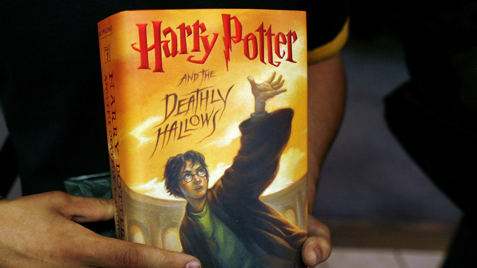 Harry Potter book - file pic