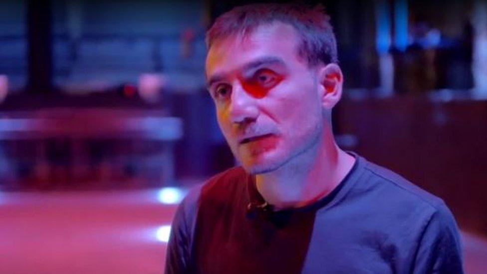 Zviad Gelbakhiani, uno de los dueños de Bassiani.