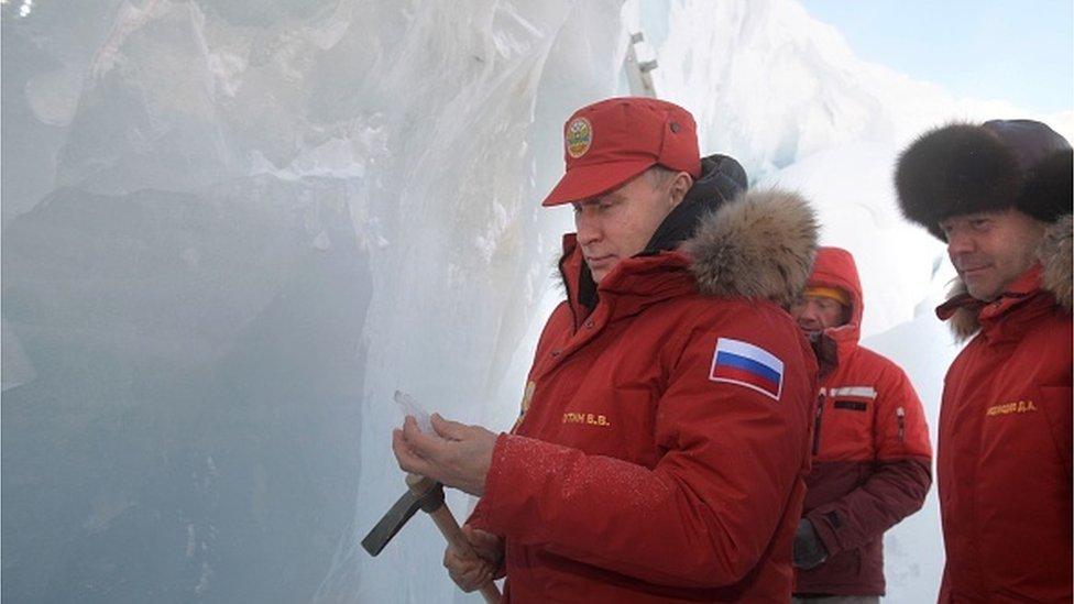 Як зміни клімату допомагають РФ мілітаризувати Арктику - британська преса