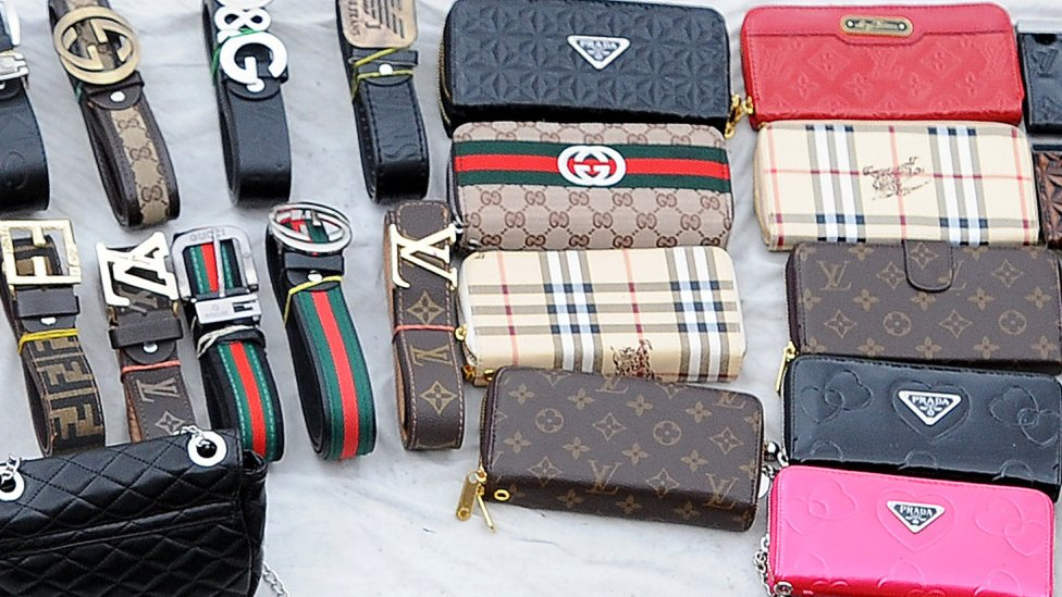 What's wrong with buying fake luxury goods? - BBC News