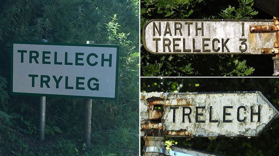 The Welsh village name with more than 20 spellings