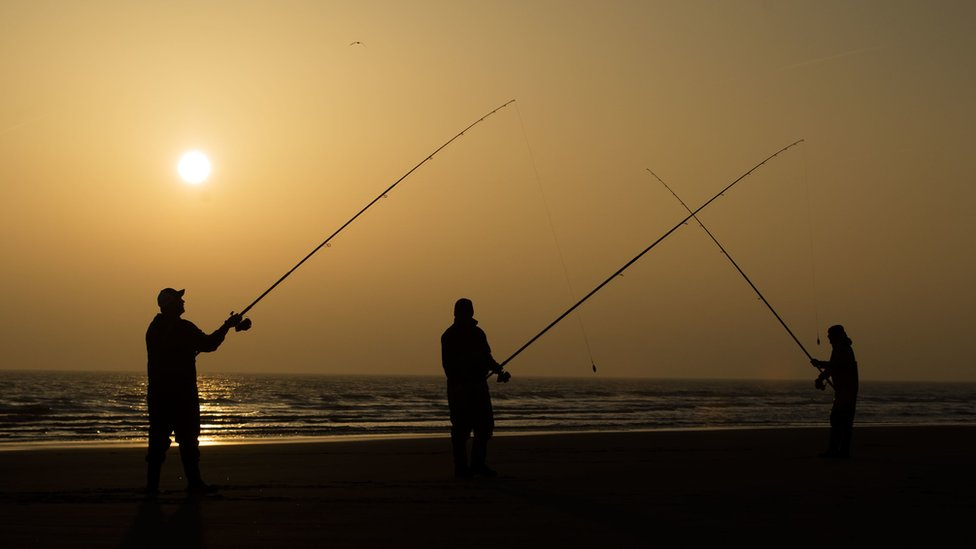 Anglers at previous competition