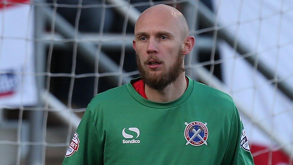 Mark Cousins: Barnet sign former Dagenham and Redbridge keeper