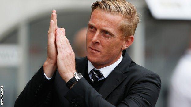 Garry Monk yn gweddio am drip bach i Wembley cyn diwedd y tymor?