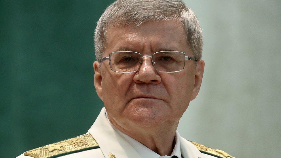 Путин предложил уволить Юрия Чайку с поста генпрокурора