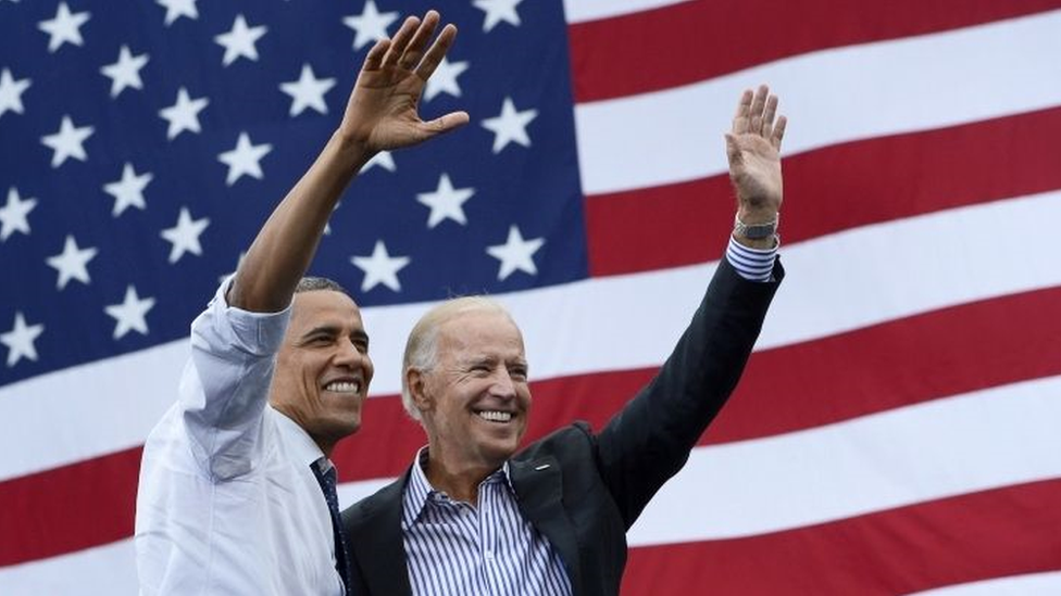 Barack Obama y Joe Biden.
