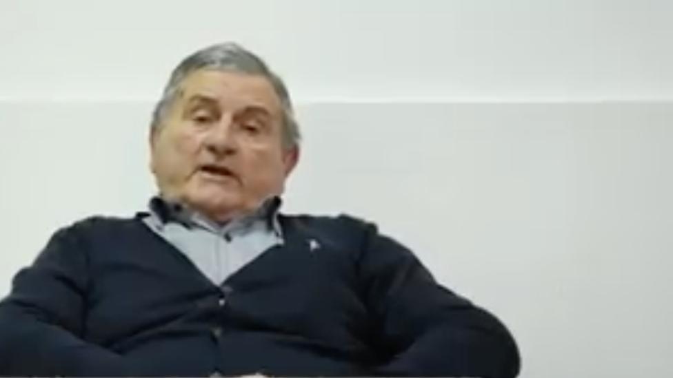 Slobodan Rajačić, nosilac liste udruženja građana Kritična masa, Kula, decembar 2018.