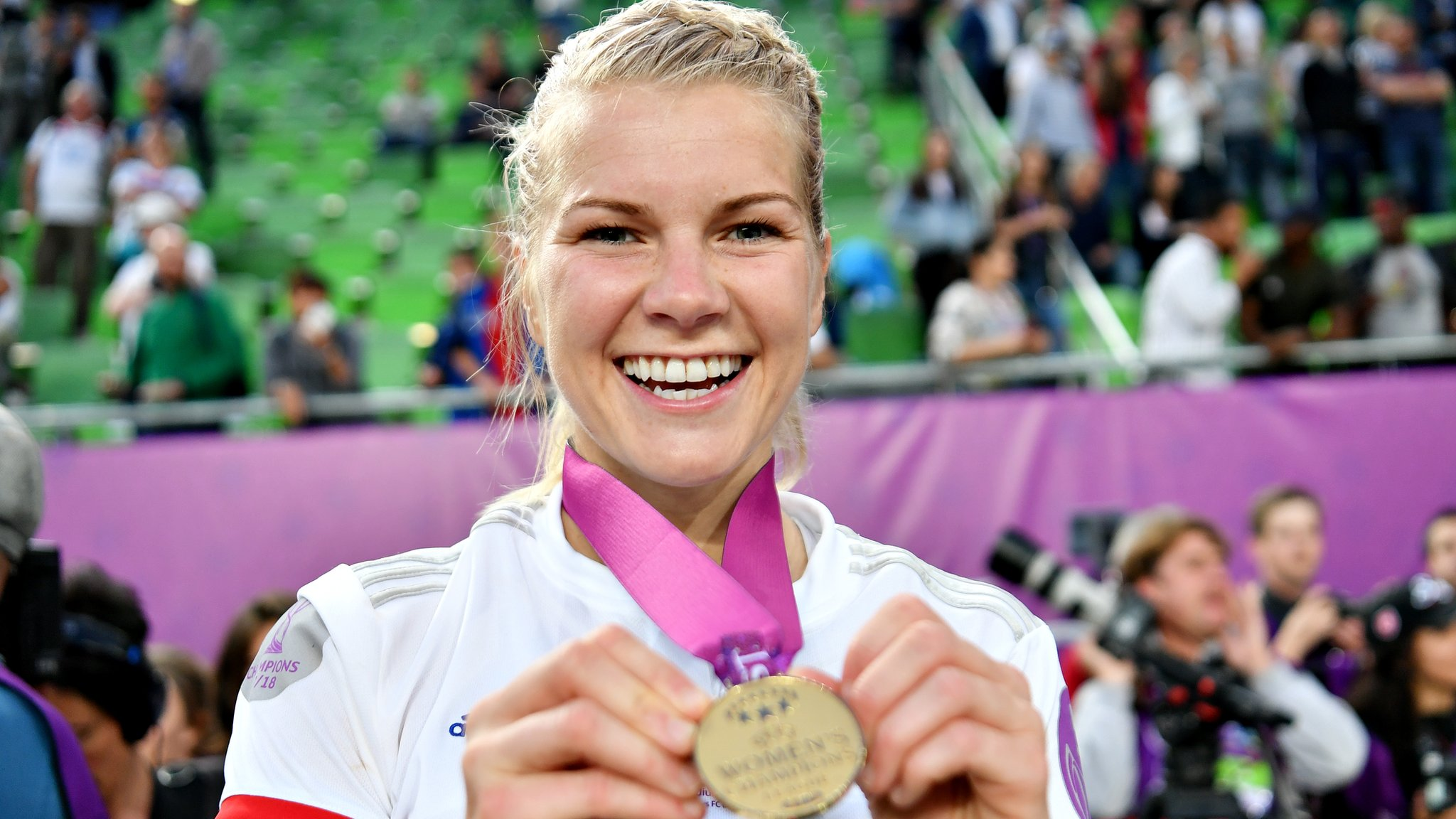 'One day the men in suits will understand' - BBC award winner Hegerberg on equality