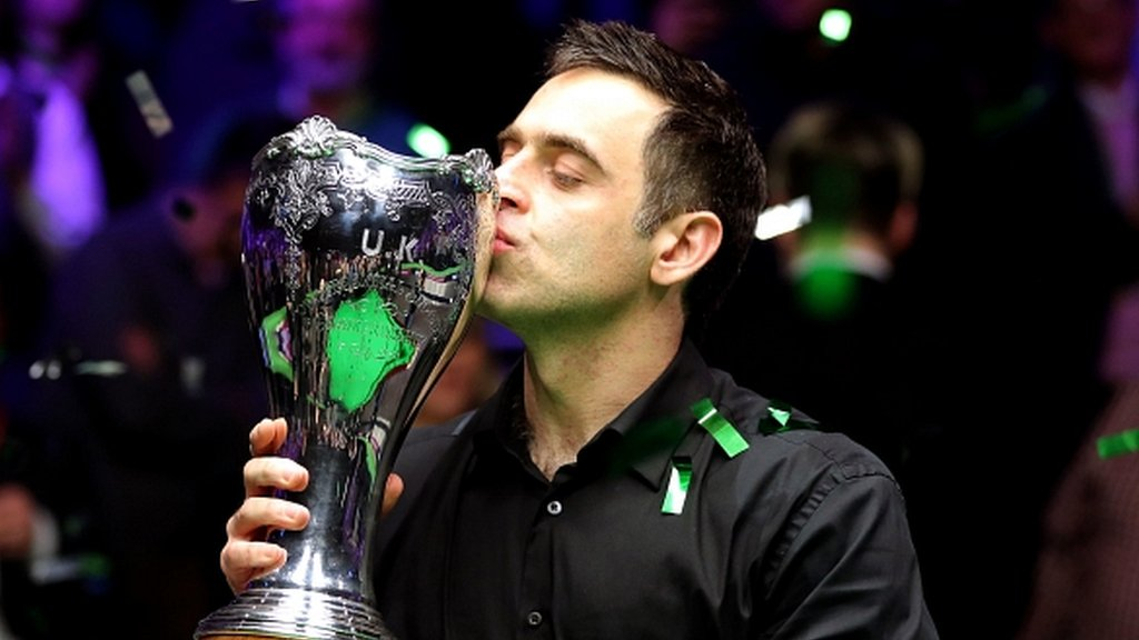 O'Sullivan wins record seventh UK title - highlights & report