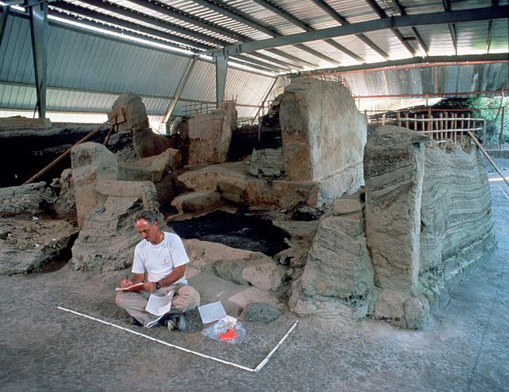 Excavación Joya de Cerén.
