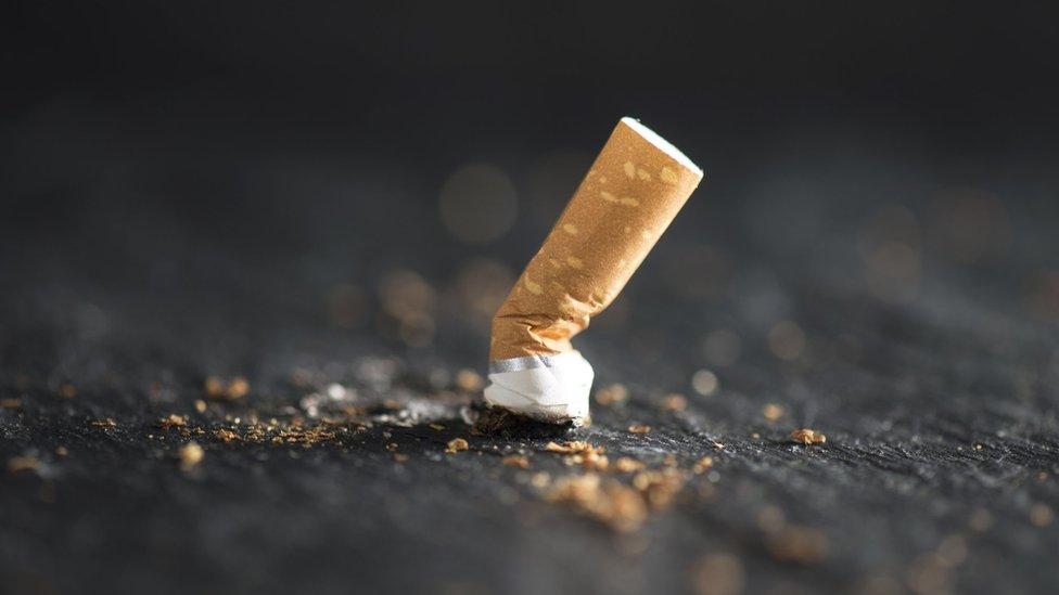ugašena cigareta