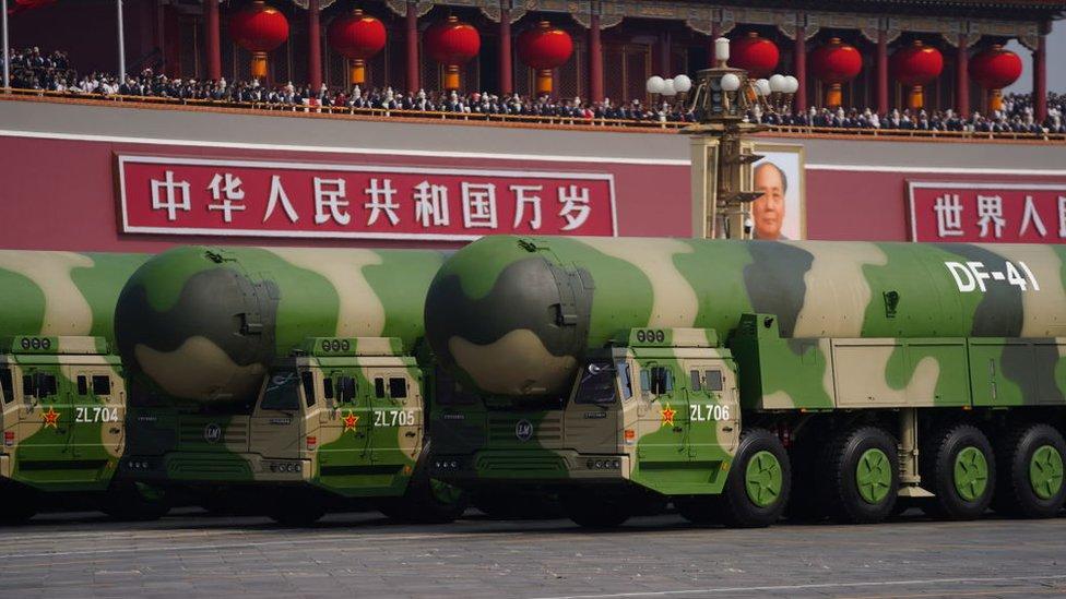 洲際彈道導彈東風41