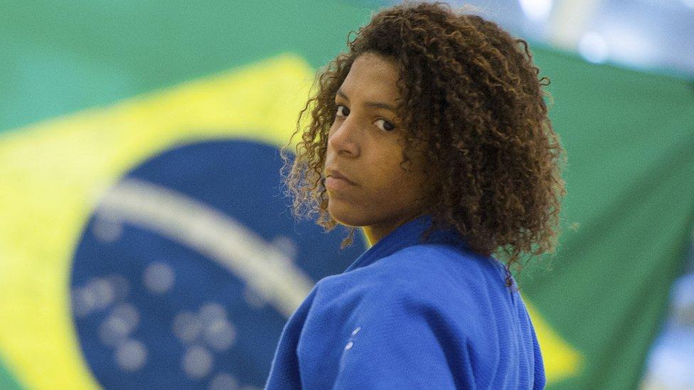 Rafaela Silva, una de las heroínas de Brasil en las Olimpiadas de Río 2016, fue entrenada por Fujii.