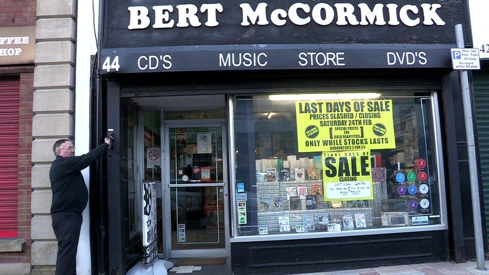 End of an era as music stops at Bert's