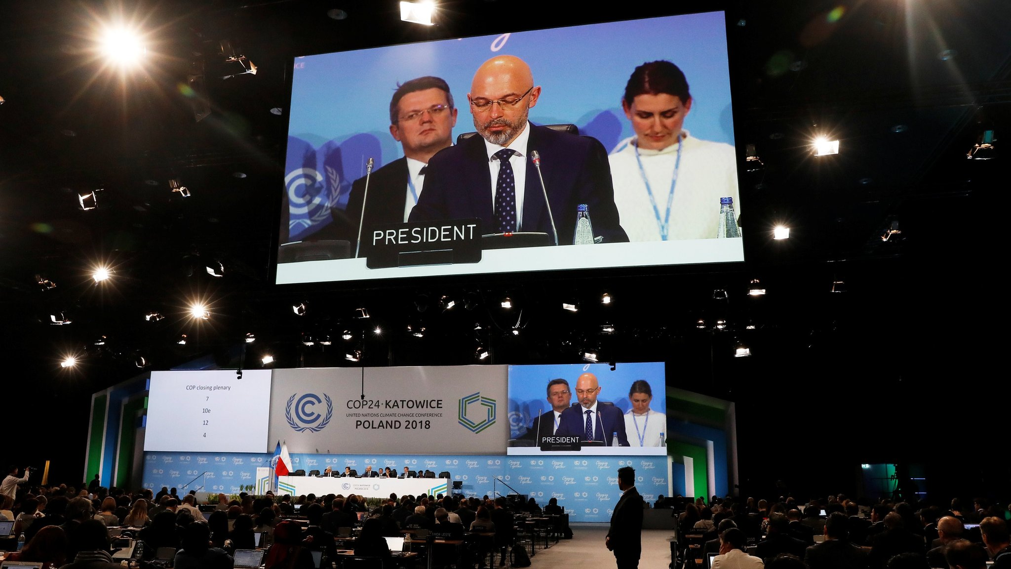 Climate change talks agree details to implement Paris deal