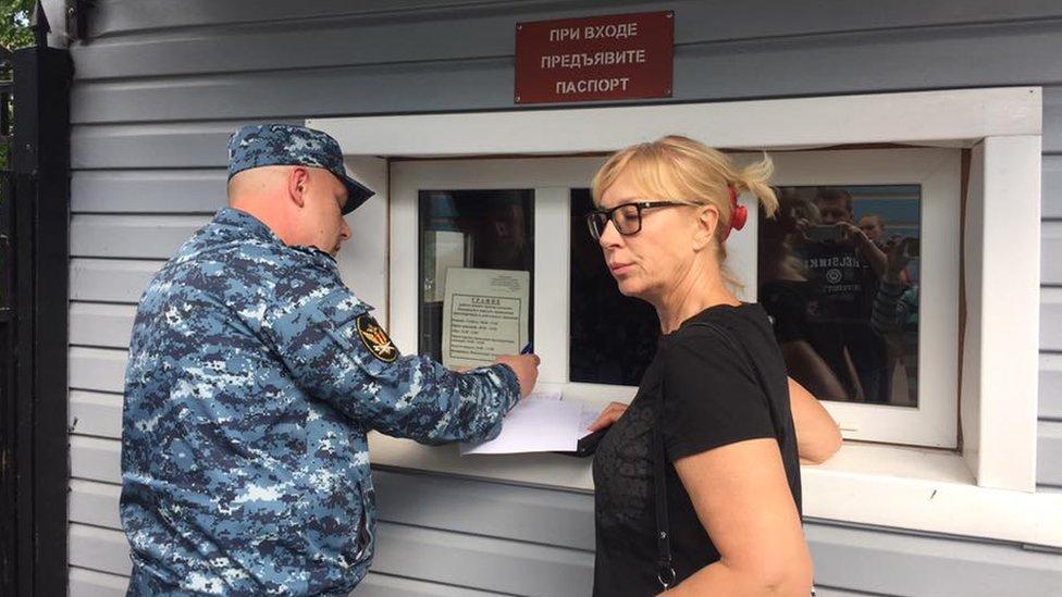 Навіщо омбудсмен Денісова їздила до Росії