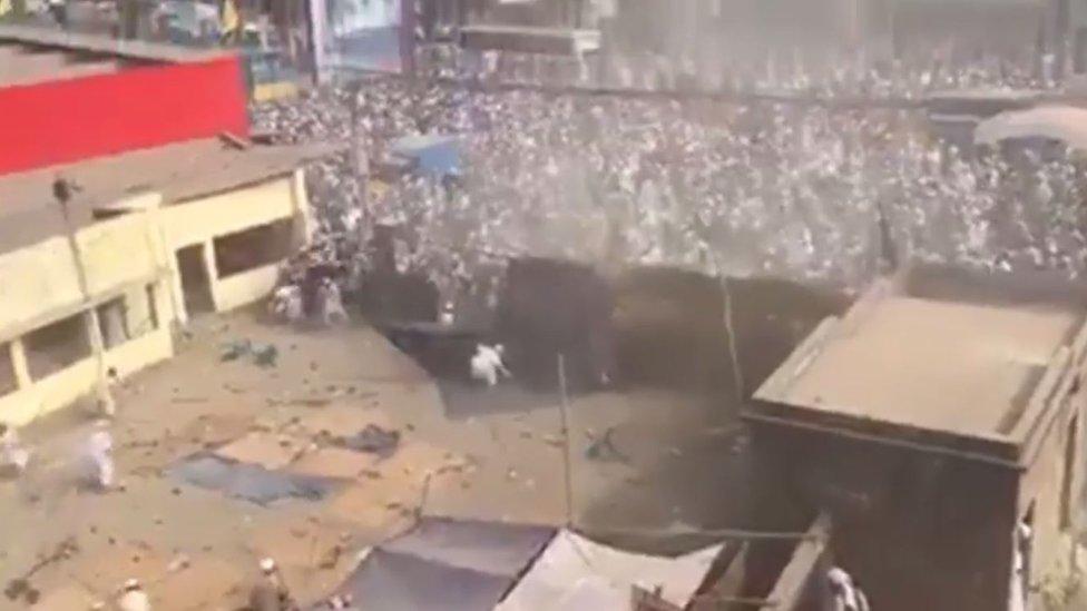 'पश्चिम बंगाल में मुस्लिम आतंक' वाले वीडियो की हक़ीक़त