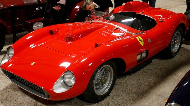 Ferrari 335 Sport Scaglietti Sells For Record Price Bbc News