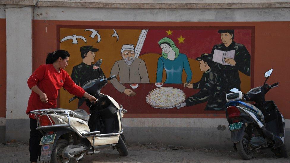 Uygurlu bir kadın