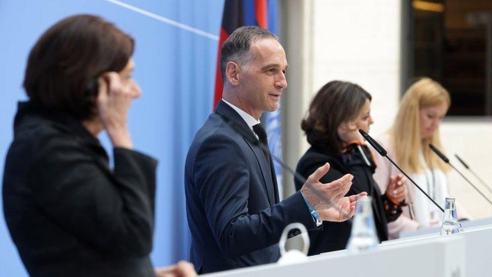 جانب من مؤتمر برلين الثاني حول ليبيا الشهر الماضي